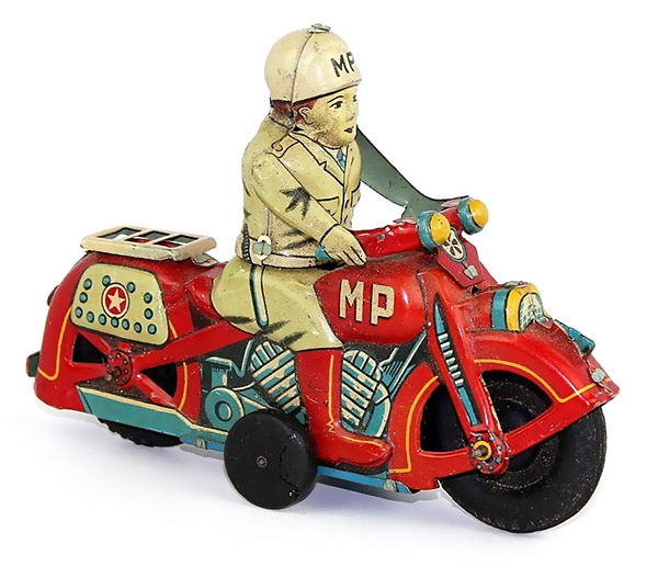 Old tin toy